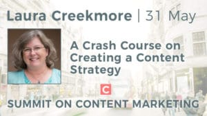 Laura Creekmore is speaking at the Summit on Content Marketing